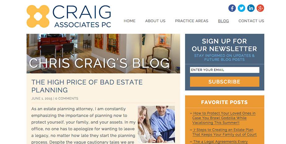 Craig Associates PC