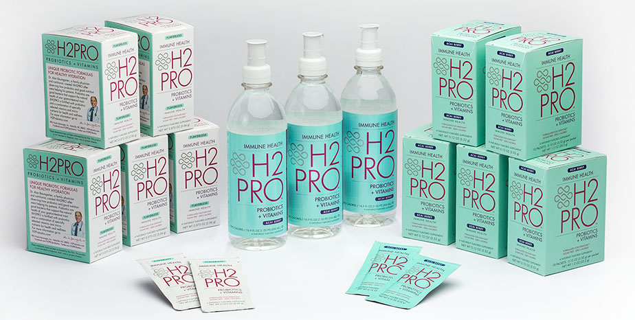 H2PRO Probiotics & Vitamins