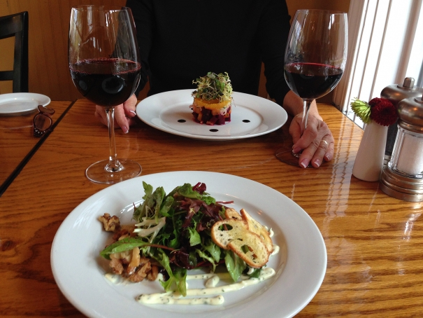 Enjoy lovely things to eat & drink at FIG Bistro in Asheville's Biltmore Village