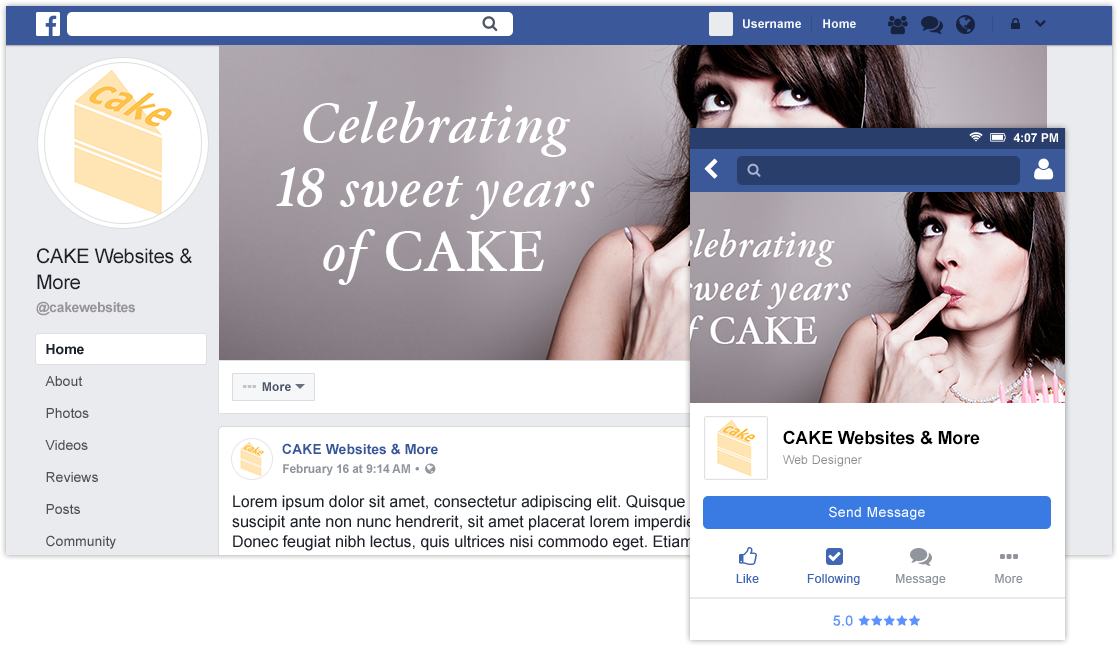 Are you tired of reformatting your Facebook business page